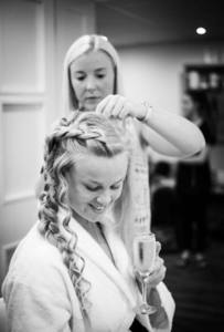 wedding hair cornwall ellie hawkesworth